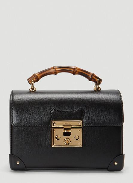 Gucci Small Padlock Handbag in Black size One Size