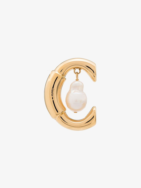 Chloé Chloé metallic gold Darcey single earring