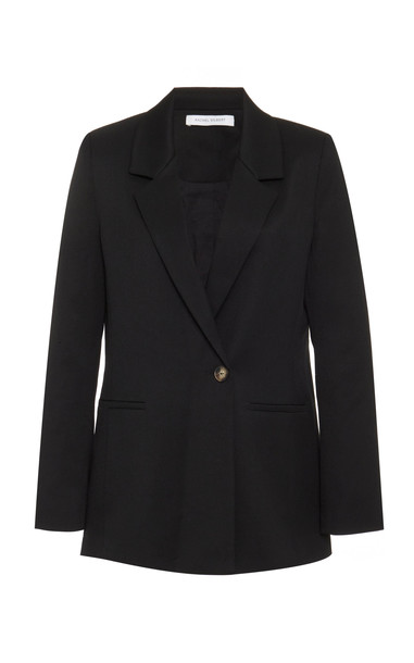 Rachel Gilbert Riley Crepe Blazer Size: XS in black