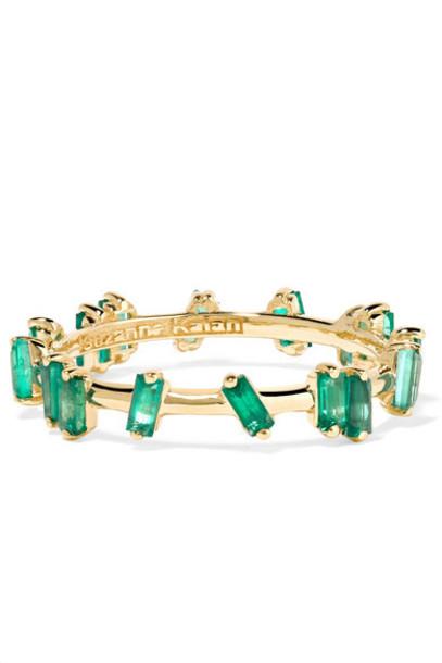 Suzanne Kalan - 18-karat Gold Emerald Ring