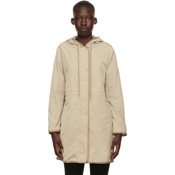 Moncler Beige Lebris Coat