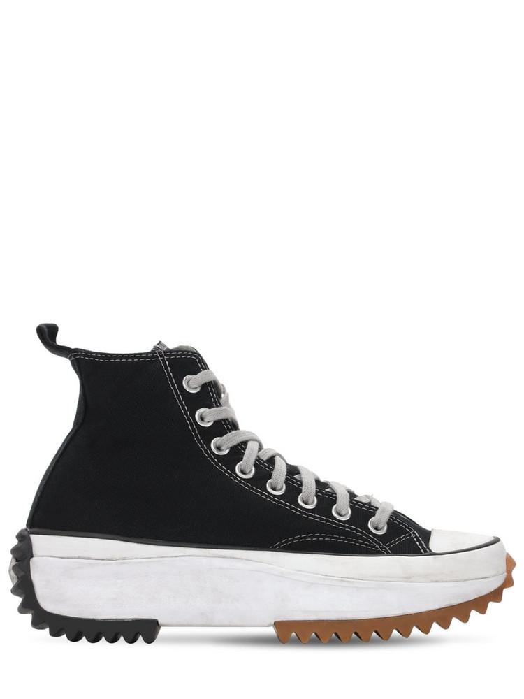 CONVERSE Run Star Hike Hi Sneakers in black