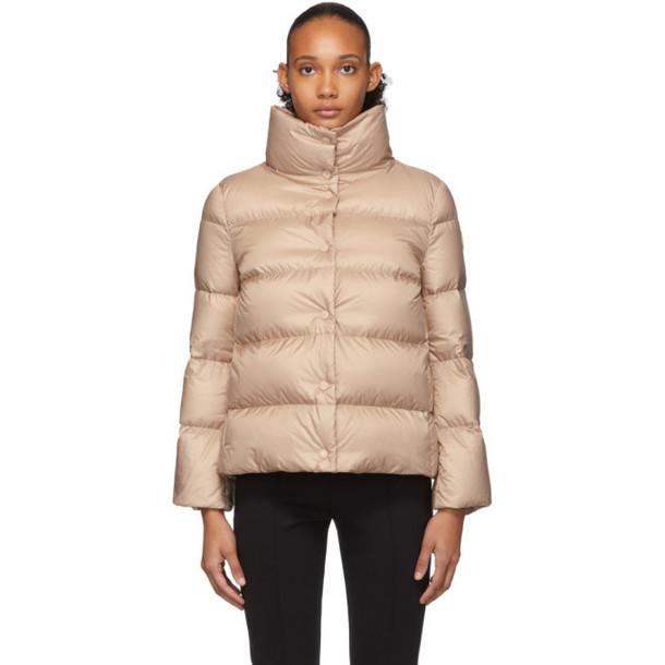 Moncler Pink Down Aude Jacket