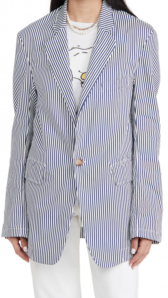 Denimist Deconstructed Blazer in blue
