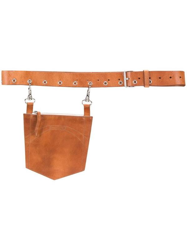 d'heygere Pocket belt in brown