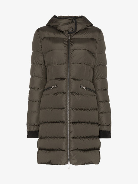 Moncler Betulong quilted jacket in green