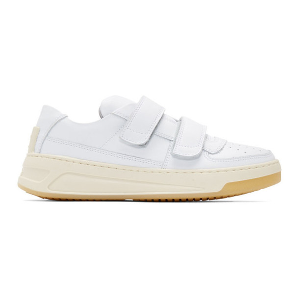 Acne Studios White Steffey Sneakers