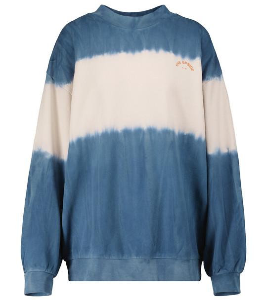 THE UPSIDE Aurelie cotton sweatshirt in white