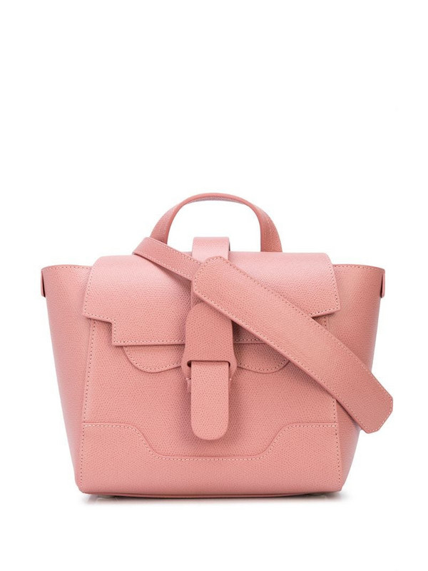 Senreve Mini Maestra shoulder bag in pink