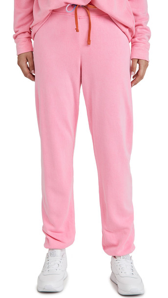 SUNDRY Basic Sweatpants in pink