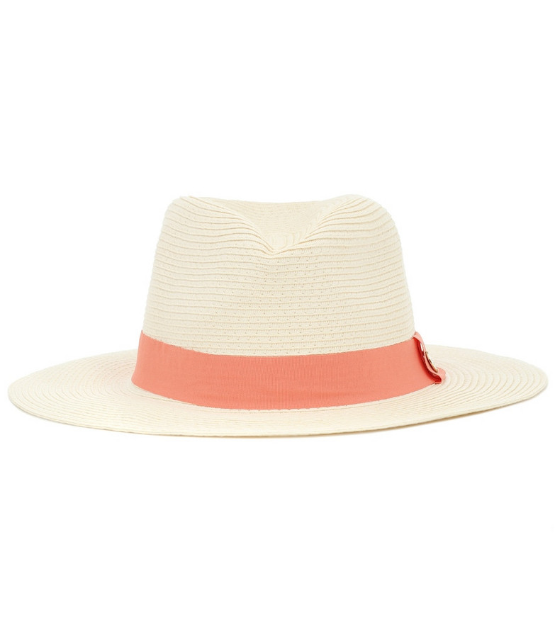 Melissa Odabash Exclusive to Mytheresa – Woven fedora in white