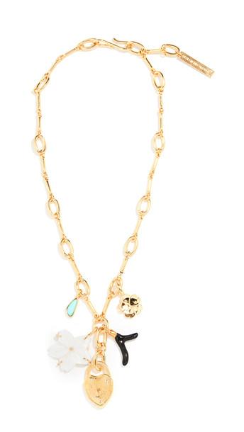 Lizzie Fortunato Fiamma Necklace in gold / multi