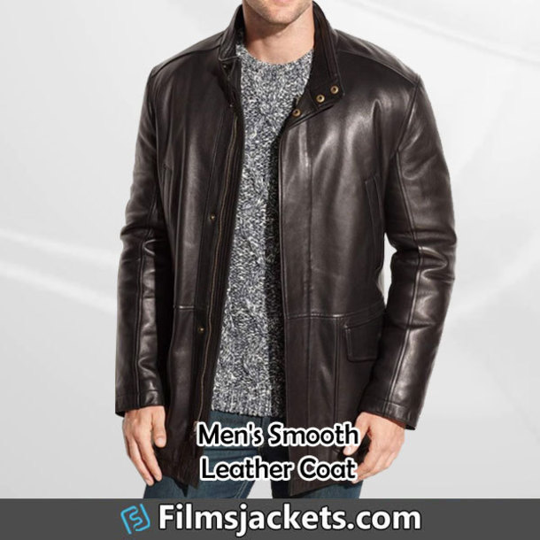 coat black leather car coat leather jacket jacket fashion outfit menswear lifestyle mens  fashion men's outfit style