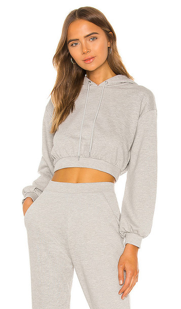Lovers + Friends Lovers + Friends Quinn Hoodie in Grey