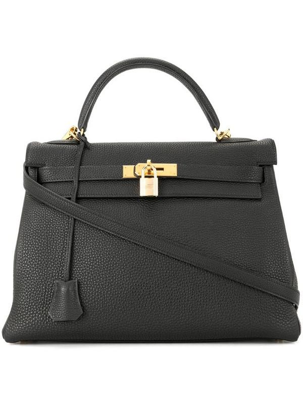Hermès 2001 pre-owned Kelly 32 2way handbag in black