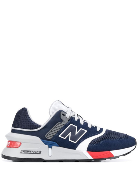 New Balance 997 low-top sneakers in blue