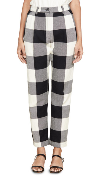 Mara Hoffman Dita Pants in black / cream