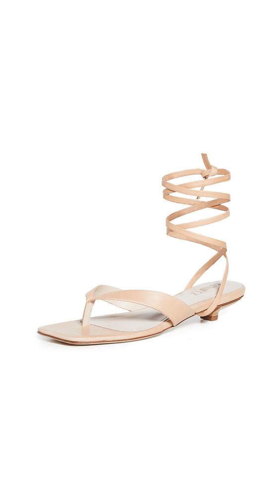 Schutz Leni Sandals in beige