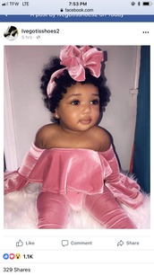pants,where to get this outfit!,pink,suede,baby clothing