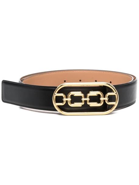 Elisabetta Franchi chain-link buckle belt - Black