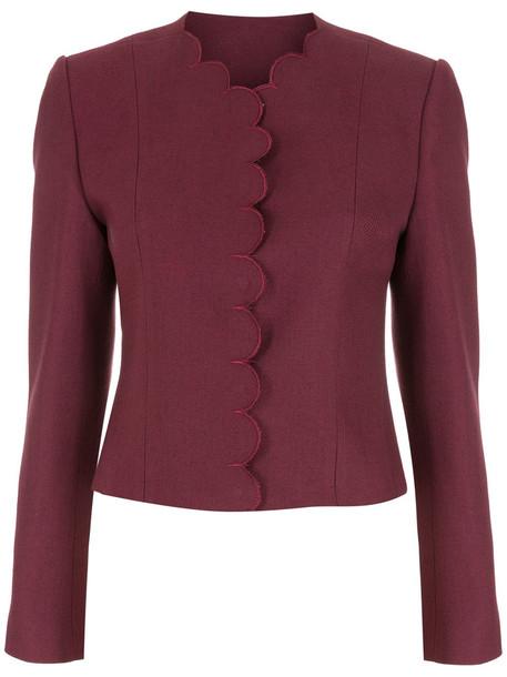 Andrea Bogosian Viver couture coat - Red