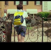 bag,call me by your name,timothée chalamet,backpack