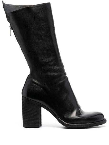 Officine Creative Vernon leather boots in black