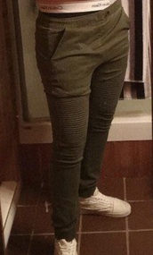 pants,army green,olive green