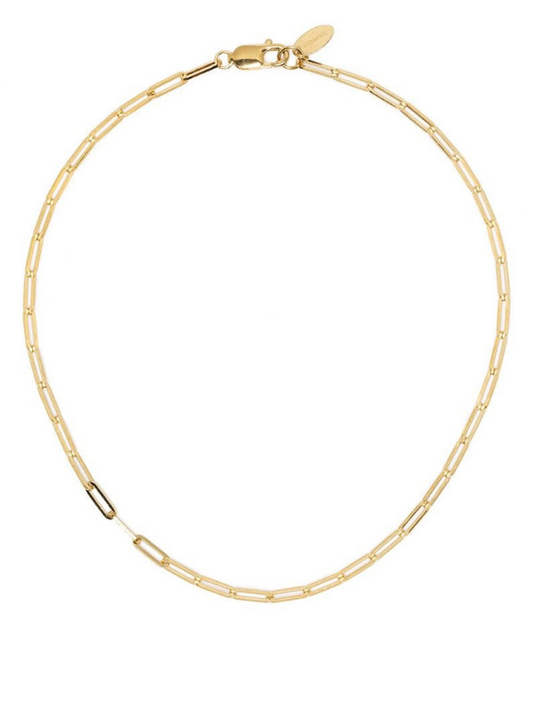 VICTORIA STRIGINI thick chain-link necklace in gold