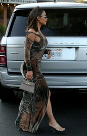 shoes,kim kardashian,pvc,sandals,kardashians,asymmetrical dress,celebrity