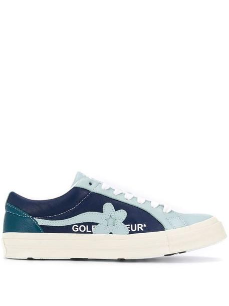 Converse Le Fleur low-top sneakers in blue