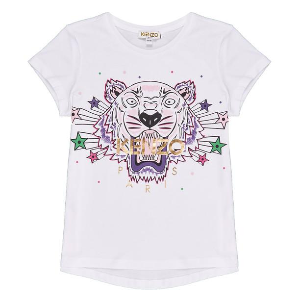 Kenzo Tiger Jg T-shirt in white