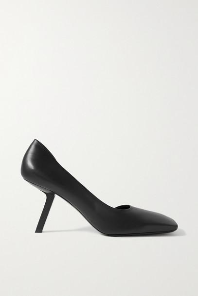 BALENCIAGA - Void Leather Pumps - Black