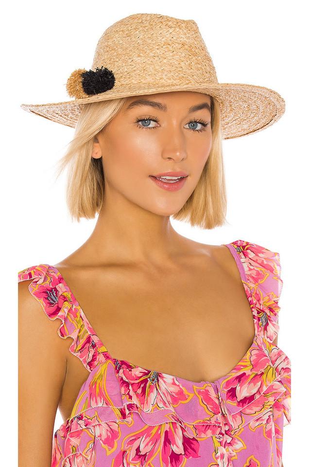 Hat Attack Mini Motto Rancher Hat in tan