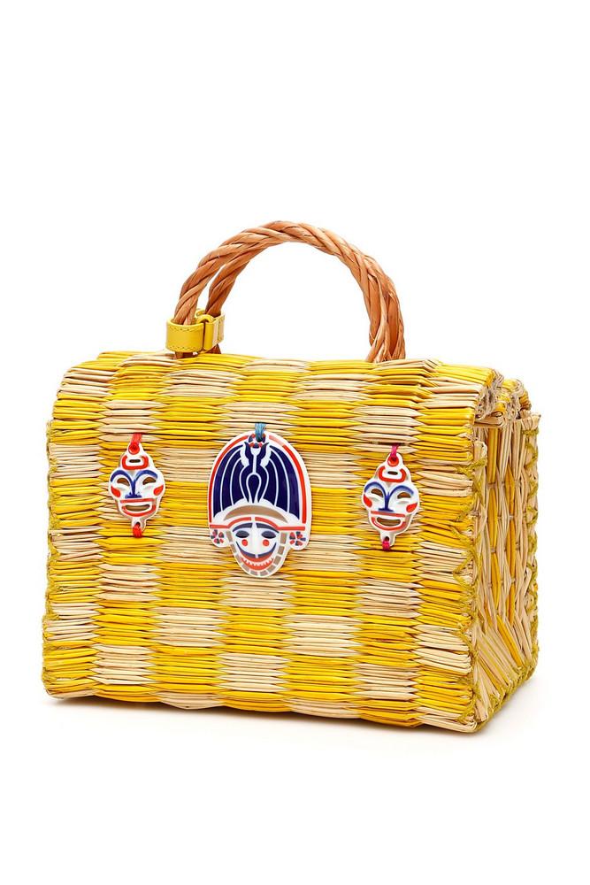 Heimat Atlantica Tom Tom True Love Bag in yellow / beige