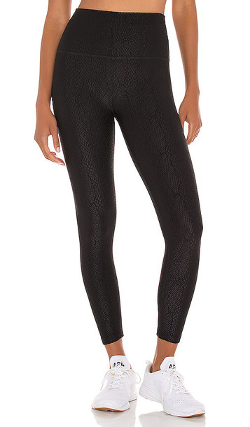 Beyond Yoga High Waisted Midi Legging in Black