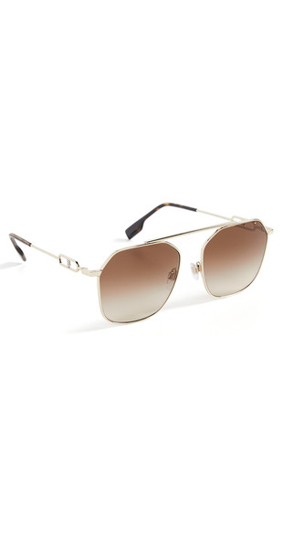 Burberry Emma Sunglasses in brown / gold
