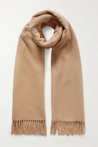Acne Studios - Canada Fringed Wool Scarf - Camel