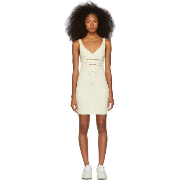 alexanderwang.t Off-White Crepe Jersey Dress