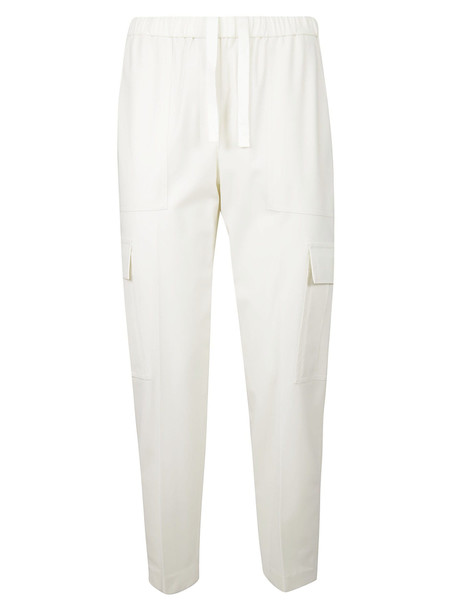 Theory Easy Cargo Trousers in ivory