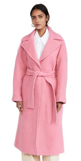 Victoria Victoria Beckham Brushed Wool Coat
