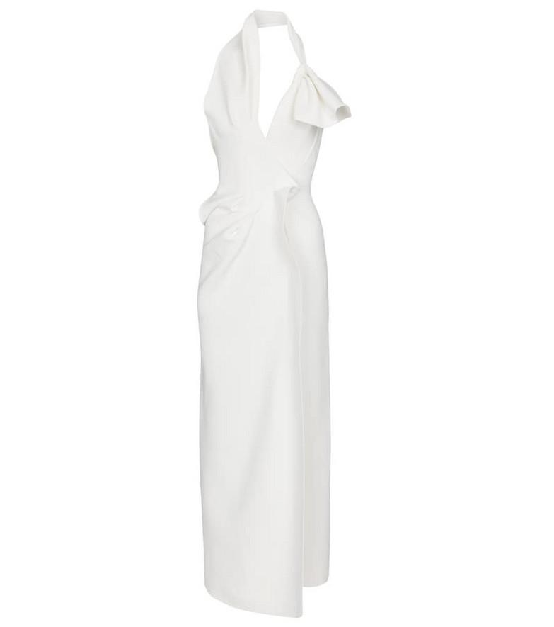 Maticevski Victoria cady gown in white