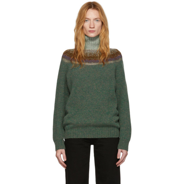 Bless Green Passenpulli Sweater