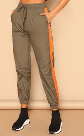 pants,girly,girl,girly wishlist,olive green,orange,joggers,joggers pants