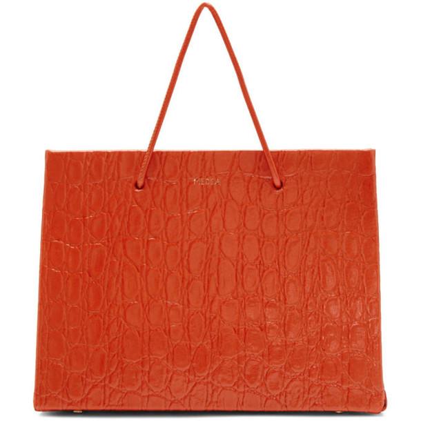 Medea Red Croc Prima Hanna Bag