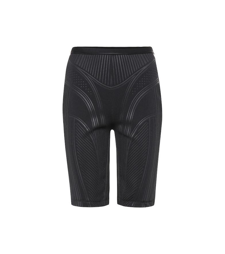 Mugler Compression biker shorts in black