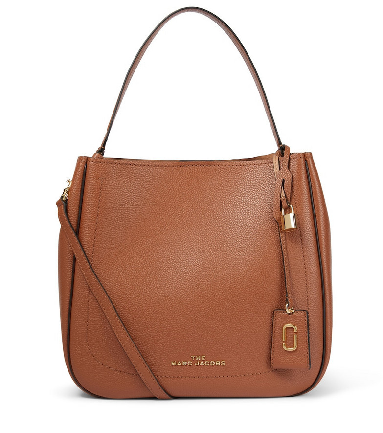 The Marc Jacobs The Director leather shoulder bag in brown