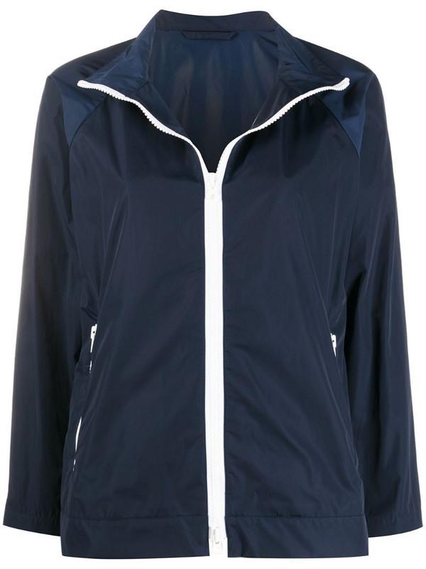 Mackintosh Mairi zip-up jacket in blue