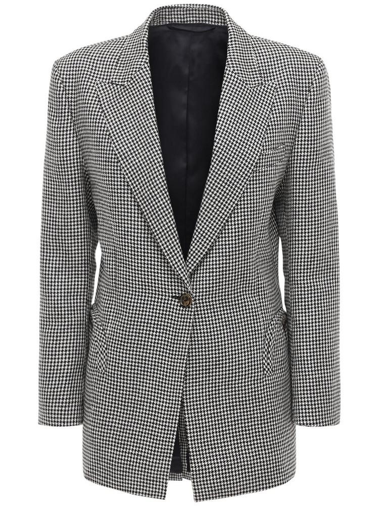 BLAZÉ MILANO Saffier Tomboy Linen Blazer in grey