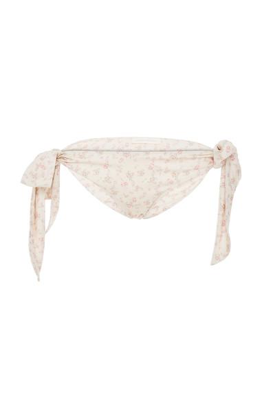 LoveShackFancy Palm Bikini Bottom Size: L